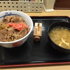 Photo taken at 松屋 高田馬場店 by クロネコ 2. on 1/19/2016
