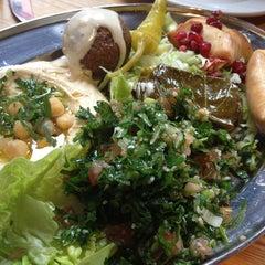 Photo taken at Yalla Yalla by Yasmine on 3/29/2013