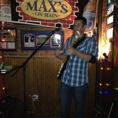 Photo taken at Max's on Main by Marcelle N. on 11/18/2012