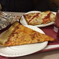 Photo taken at Lenny's Pizza by Anton S. on 3/9/2014