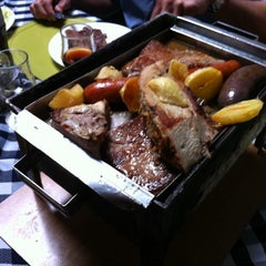 Photo taken at Parrilladas San Luis by Wladimir P. on 4/30/2012
