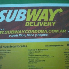 Photo taken at Subway by Luis Miguel B. on 3/26/2012