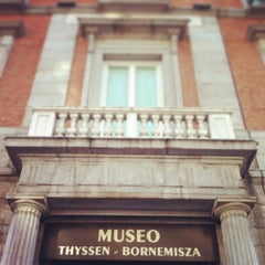 Photo taken at Museo Thyssen-Bornemisza by Salva M. on 4/25/2013
