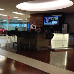 Photo taken at Lexus of Omaha by Stephanie M. on 3/12/2014