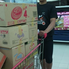 Photo taken at Carrefour by Catur P. on 3/19/2014