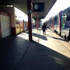 Photo taken at RER Saint-Gratien [C] by Najat on 8/19/2013