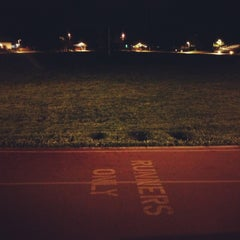Photo taken at Campbell Community Center Track by Aki Y. on 4/5/2013