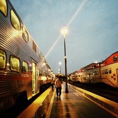 Photo taken at San Francisco Caltrain Station by Aki Y. on 11/17/2012