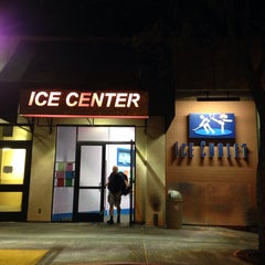 Photo taken at Ice Center by Aki Y. on 10/7/2014