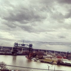 Photo taken at Cuyahoga River by Phillip L. on 4/8/2013