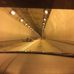 Photo taken at Liberty Tunnel by Amanda E on 12/25/2014