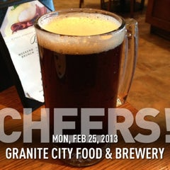 Photo taken at Granite City Food & Brewery by Paul M. on 2/25/2013
