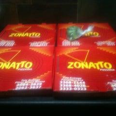 Photo taken at Pizzaria Zonatto by Lukas D. on 12/17/2012