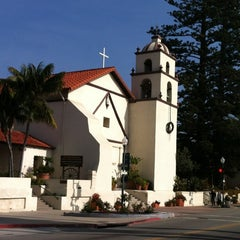 Photo taken at Mission San Buenaventura by John H. on 12/9/2012