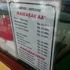 Photo taken at Martabak AA by Tim M. on 3/30/2014