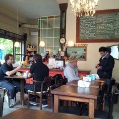 Photo taken at Mill Café by Melina P. on 10/16/2012