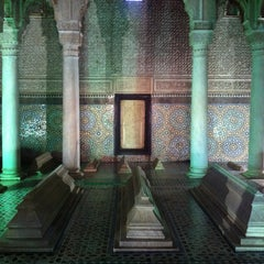 Photo taken at Saadian Tombs | قبور السعديين by Oli S. on 3/26/2013