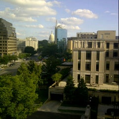 Photo taken at EB Williams Law Library, Georgetown Law by Ben S. on 6/17/2012
