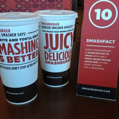 Photo taken at Smashburger by Stephanie H. on 2/13/2013