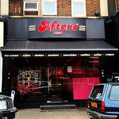 Photo taken at Afters Ice-Cream South Croydon by Kate T. on 4/2/2014