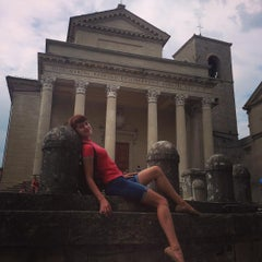 Photo taken at Palazzo Di Governo San Marino by Ирина С. on 8/16/2015