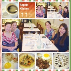 Photo taken at Angel's Kitchen by Glenz V. on 9/11/2014