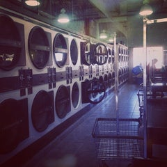Photo taken at Federal Hill Laundromat by Danielle B. on 5/6/2014