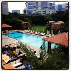 Photo taken at The Westin Hyderabad Mindspace by sumit c. on 9/23/2012