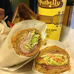 Photo taken at Potbelly Sandwich Shop by Christina Y. on 1/4/2013
