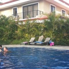 Photo taken at Club De Playa Hotel & Villas Nacazcol Playa Panamá by Diego V. on 4/13/2014