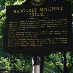 Photo taken at Margaret Mitchell House by Melissa Z. on 6/11/2013
