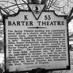 Photo taken at Barter Theatre by Virginia Traveler on 2/28/2014