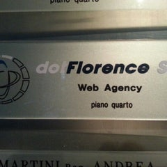 Photo taken at Dotflorence srl by Paolo R. on 8/31/2012