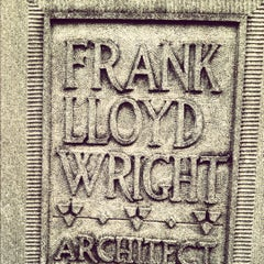 Photo taken at Frank Lloyd Wright Home and Studio by Maureen on 3/15/2012