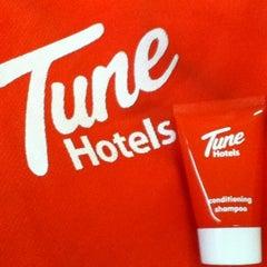 Photo taken at Tune Hotels by nadya i. on 3/18/2012