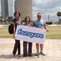 Photo taken at Curtis Hixon Waterfront Park by Ballywho S. on 4/16/2012