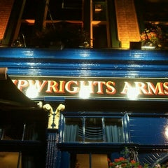 Photo taken at The Shipwrights Arms by Giorgio G. on 8/3/2012