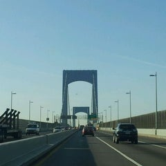 Photo taken at Throgs Neck Bridge Toll Plaza by Brian C. on 3/14/2012