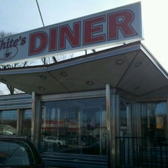 Photo taken at White's Diner by Anthony C. on 3/5/2012