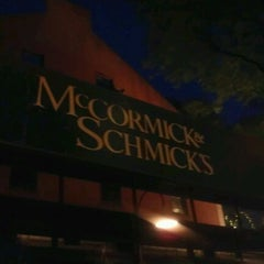 Photo taken at McCormick & Schmick's Seafood by Maria R. on 9/1/2012