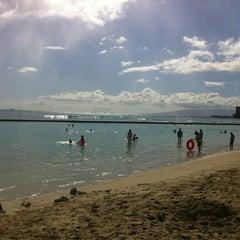 Photo taken at Waikiki Beach Walls by Jason S. on 7/29/2012