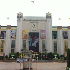 Photo taken at สนามศุภชลาศัย (Supachalasai Stadium) by Piak P. on 2/22/2012