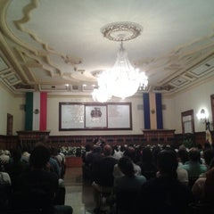 Photo taken at Presidencia Municipal by Miguel Ernesto G. on 3/23/2012