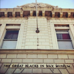 Photo taken at The National Great Blacks in Wax Museum by Stitch E. on 2/20/2012