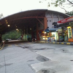 Photo taken at Hentian Duta Bus Terminal by Izyan Z. on 4/15/2012
