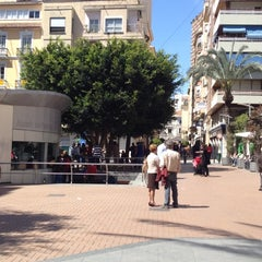 Photo taken at Plaza Nueva by Luis P. on 4/21/2012