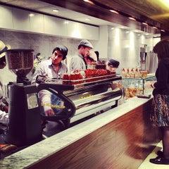 Photo taken at Blue Bottle Coffee by Matt D. on 3/13/2012