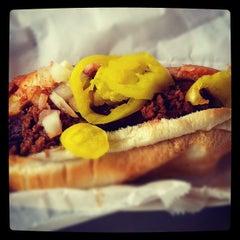 Photo taken at Oscar Meyer Hot Dog Zone by Jeffrey J. on 6/15/2012