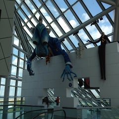 Photo taken at The Rock and Roll Hall of Fame and Museum by Sara B. on 5/24/2012