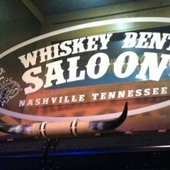 Photo taken at Whiskey Bent Saloon by Erin R. on 7/12/2012